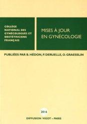Dernières parutions dans Mises à jour, Mises à jour en gynécologie  2016