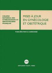 Dernières parutions dans Mises à jour en gynécologie obstétrique, Mises à jour en gynécologie et obstétrique 2002
