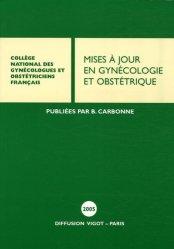 Dernières parutions dans Mises à jour en gynécologie obstétrique, Mises à jour en gynécologie et obstétrique 2005
