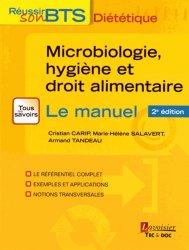 Souvent acheté avec Connaissance des aliments - Exercices et annales, le Microbiologie, hygiène et droit alimentaire