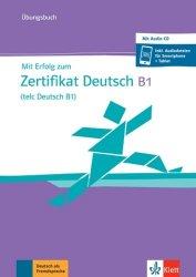 Dernières parutions sur Auto apprentissage (parascolaire), Mit erfolg zum zertifikat deutsch b1 - ubungsbuch mit audio-cd
