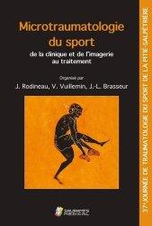 Dernières parutions sur Médecine du sport, Microtraumatologie du sport : de la clinique et de l'imagerie au traitement