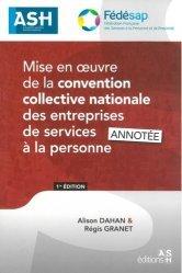 Dernières parutions sur Conventions collectives, Mise en oeuvre de la convention collective nationale des entreprises de services