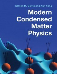 Dernières parutions sur Anglais spécialisé, Modern Condensed Matter Physics