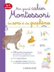 Souvent acheté avec Ma maternelle avec Montessori, le Mon grand cahier Montessori