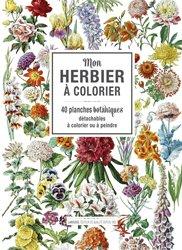 Nouvelle édition Mon herbier à colorier