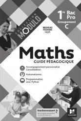 Dernières parutions sur CAP - Bac pro et techno, Modulo - MATHEMATIQUES 1re Bac Pro Groupement C - Ed. 2020 - Guide pédagogique