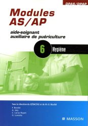 Souvent acheté avec Modules AS / AP  4 : Ergonomie, le Modules AS / AP6 : Hygiène