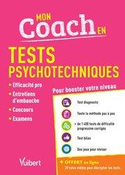Dernières parutions sur Tests psychotechniques, Mon coach en Tests psychotechniques