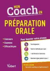 Dernières parutions sur Expression orale, Mon coach en préparation orale