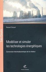 Modéliser et simuler les technologies énergétiques