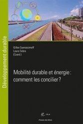 Dernières parutions sur Énergies, Mobilité durable et énergie : comment les concilier ?