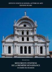 Dernières parutions sur Patrimoine antique 3500 av.JC - 500 ap.JC, Monuments vénitiens de la Première Renaissance