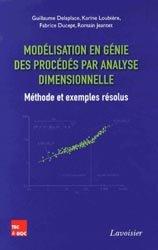 Dernières parutions sur Construction mécanique, Modélisation en génie des procédés par analyse dimensionnelle