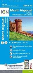 Dernières parutions sur Languedoc-Roussillon, Mont Aigoual. Le Vigan, Parc national des Cévennes 1/25 000