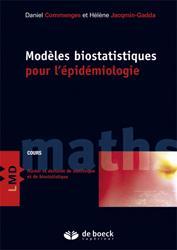 Dernières parutions sur Epidémiologie - Statistiques, Modèles biostatistiques pour l'épidémiologie