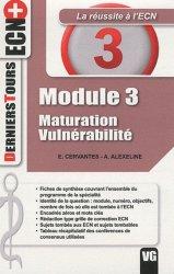 Dernières parutions dans Derniers Tours ECN+, Module 3 - Maturation - Vulnérabilité