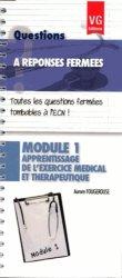 Souvent acheté avec Radiologie, le Module 1 - Apprentissage de l'excercice médical et thérapeutique