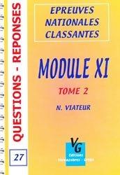 Souvent acheté avec Module XI Tome 1, le Module XI Tome 2 livre ecn 2020, livre ECNi 2021, collège pneumologie, ecn pilly, mikbook, majbook, unithèque ecn, college des enseignants, livre ecn sortie
