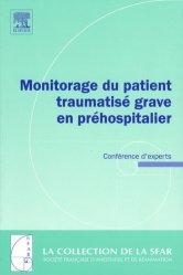 Dernières parutions sur Urgences préhospitalieres, Monitorage du patient traumatisé grave en préhospitalier