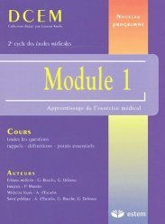 Souvent acheté avec Gériatrie - Rééducation fonctionnelle, le Module 1 Apprentissage de l'exercice médical