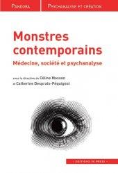 Dernières parutions dans Pandora, Monstres contemporains majbook ème édition, majbook 1ère édition, livre ecn major, livre ecn, fiche ecn