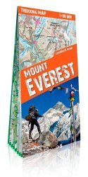 Dernières parutions sur Chine, Mount Everest. 1/80 000, Edition français-anglais-allemand