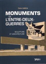 Dernières parutions sur Sculpture, Monuments de l'entre-deux-guerres : sculpture et architecture