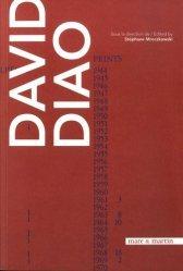 Dernières parutions sur Art abstrait, Monographie David Diao