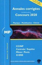 Dernières parutions sur Physique pour la prépa, MP physique, modélisation et chimie