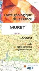 Dernières parutions dans Carte géologique de la France à 1/50 000, Muret