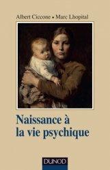 Dernières parutions dans Psychismes, Naissance à la vie psychique