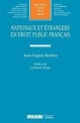 Dernières parutions dans Bibliothèque de Droit Public, Nationaux et étrangers en droit public français