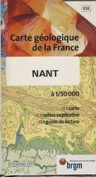 Dernières parutions dans Carte géologique de la France à 1/50 000, Nant