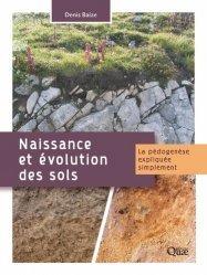 Dernières parutions sur Pédologie, Naissance et évolution des sols