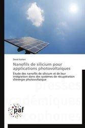 Dernières parutions sur Micro-électronique, Nanofils de silicium pour applications photovoltaïques