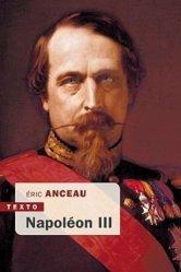 Dernières parutions dans Texto, Napoléon III