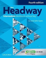 Dernières parutions sur Méthodes de langue (scolaire), New Headway, 4th Édition Intermediate: Workbook Without Key 2019 Édition