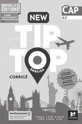 Dernières parutions sur Méthodes de langue (scolaire), New Tip Top ENGLISH CAP - Ed. 2020 - Corrigé