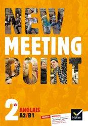 Dernières parutions dans Meeting Point, New Meeting Point Anglais 2de : Manuel de l'Élève