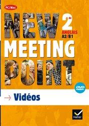 Dernières parutions dans Meeting Point, New Meeting Point 2de : DVD vidéo