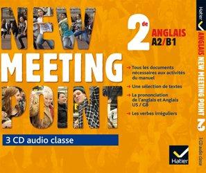 Dernières parutions dans Meeting Point, New Meeting Point 2de : 3 CD Audio-Classe