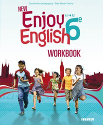 Dernières parutions dans New Enjoy, New Enjoy English 6e : Workbook