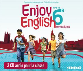 Dernières parutions dans New Enjoy, New Enjoy English 6e : 3 CD Audio pour la Classe