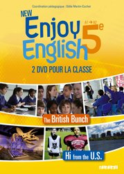 Dernières parutions dans New Enjoy, New Enjoy English 5e : Coffret pour la Classe 2 DVD