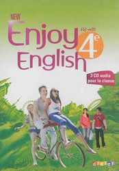 Dernières parutions dans New Enjoy, New Enjoy English 4e : Coffret pour la Classe 3 CD Audio et 1 DVD