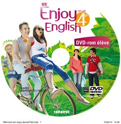 Dernières parutions dans New Enjoy, New Enjoy English 4e : DVD-rom de Remplacement