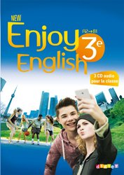 Dernières parutions dans New Enjoy, New Enjoy English 3e : Coffret pour la Classe 3 CD audio et 1 DVD