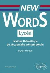 Dernières parutions sur 1re, New Words Lycée