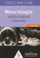 Dernières parutions dans Vade-mecum, Neurologie vétérinaire